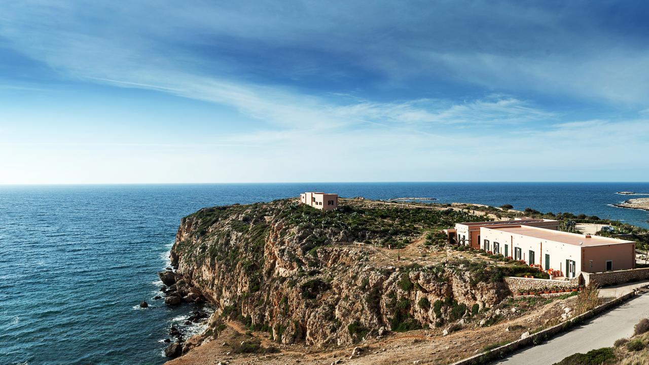 Nido del Pellegrino, wild resort affacciato sul mare